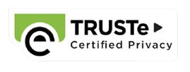 個人情報保護認証 TRUSTe(トラストイー)の認証マーク