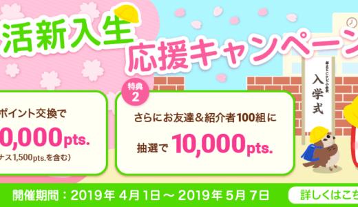 2019年5月のECナビ新規登録キャンペーン!入会で最大2,000円