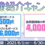 ちょびリッチ新規登録キャンペーン(2021年6月)