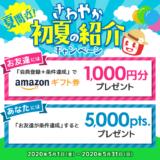 ECナビ「夏間近!さわやか初夏の紹介キャンペーン」(2020年5月)