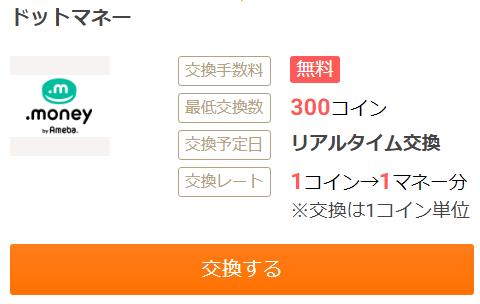 お財布.comはドットマネーへのポイント交換がオススメ