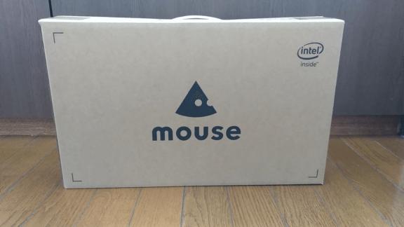 ECナビ経由で購入したマウスコンピュータのノートパソコン